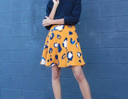 3.1-Phillip-Lim-Animal-Print-Skirt