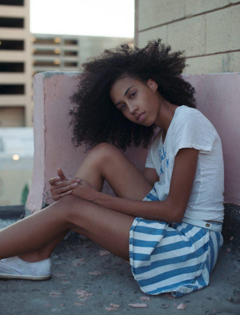 striped-american-apparel-skirt