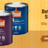 Flood Wood Care Better Backyard Sweepstakes & Instant Win Game ends 5/17