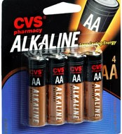FREE AA or AAA Batteries at CVS