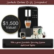Enter for a Chance to Win a Starbucks Verismo V-585