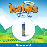 Halos Wheel of Goodness Instant Win Game ends 3/15