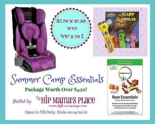 Summer Camp Essentials Package Giveaway