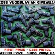 CZ99 Yugoslavian Pistol Giveaway