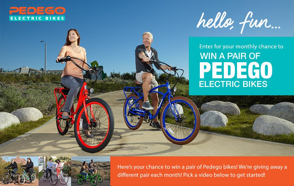 Pedego - Pair of Electric Bikes Sweepstakes