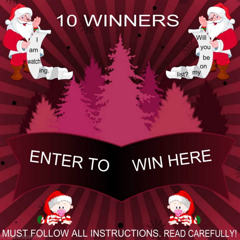 Amazon Gift Card Giveaway - 10 WINNERS