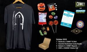 CometTV/Charge! Hushaween Prize Pack Giveaway