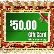 $50 Gift Card Giveaway – WINNER ANNOUNCED!