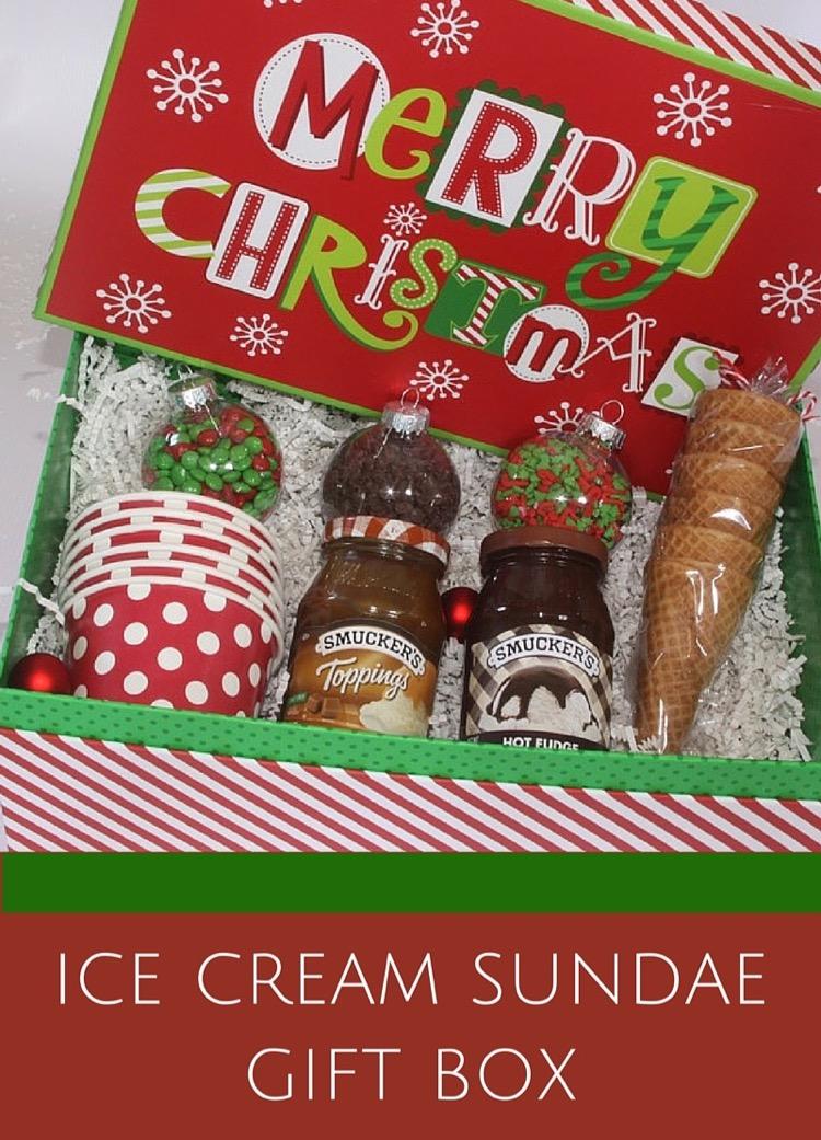 Ice Cream Sundae Gift Box Thrifty And Thriving