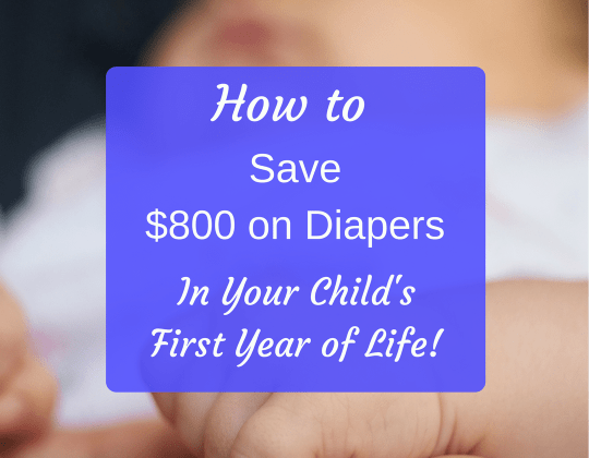 save on diapers