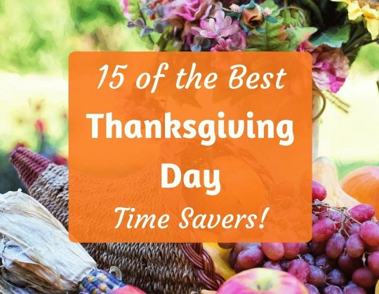thanksgiving save time