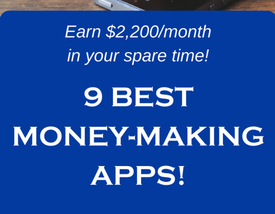 Make money online with these ten amazing money-making apps!