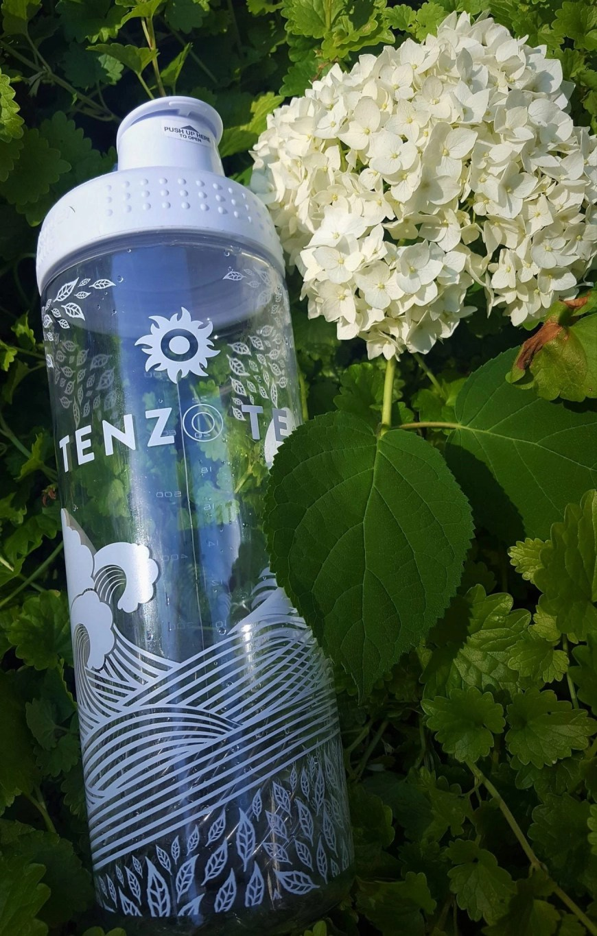 tenzo tea water bottle