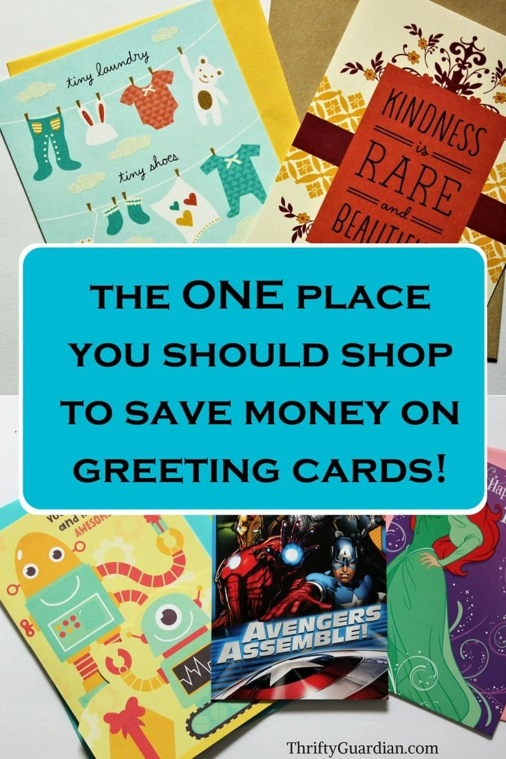 Dollar Tree Greeting Cards Thrifty Guardian