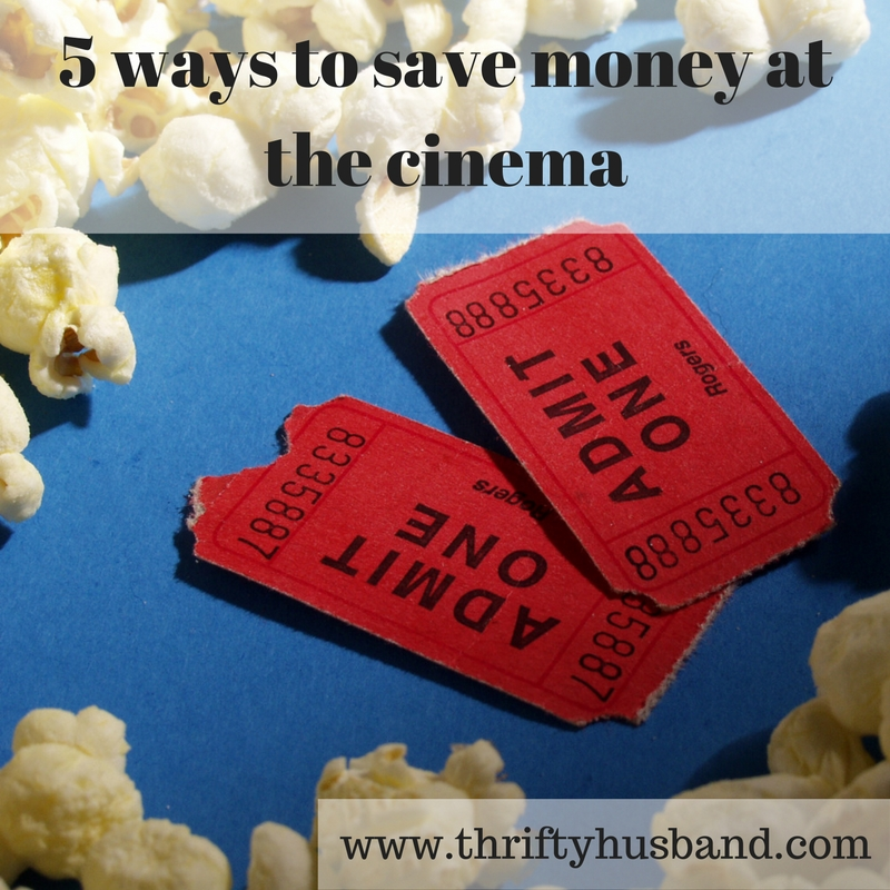 5 ways to save money at the cinema