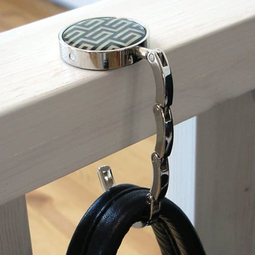 Keep Germs Off Your Purse with This Purse Hanger!