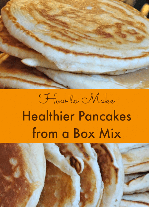 How to Make Healthier Pancakes from a Mix