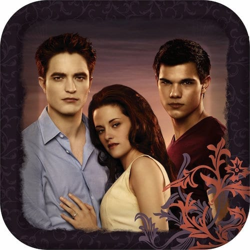 Twilight Eclipse Themed Party Supplies - Plates, Cups, Banners, Invitations and More