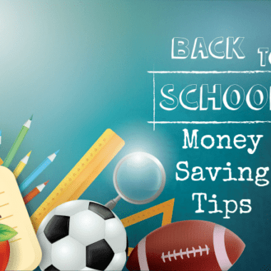 Back to School Money Saving Tips
