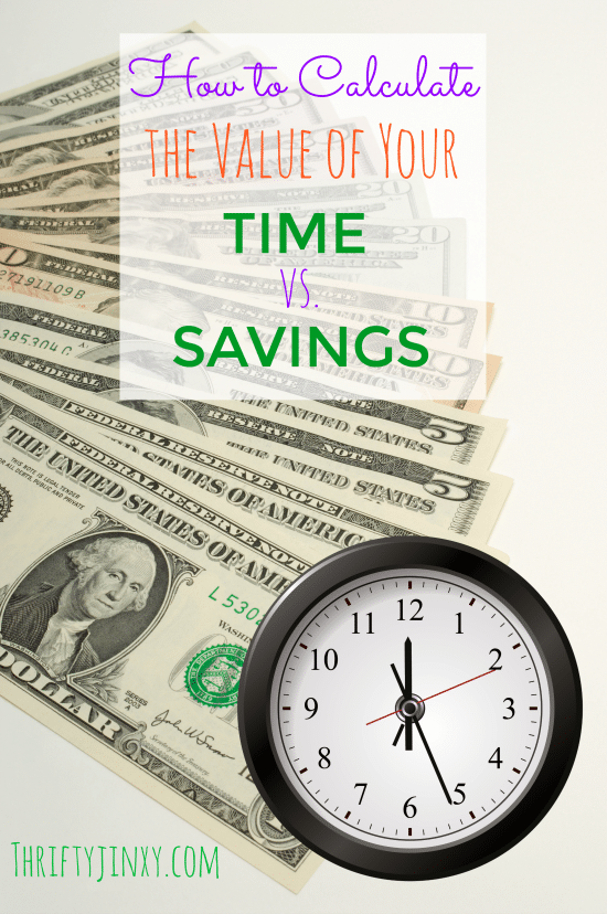 How to Calculate the Value of Your Time vs Savings