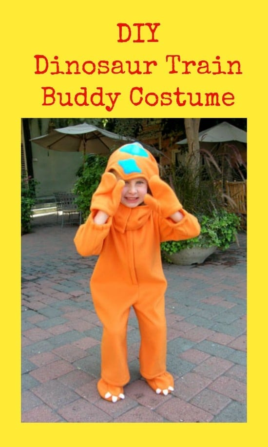 Use these instructions to make your own DIY Dinosaur Train Buddy Costume.