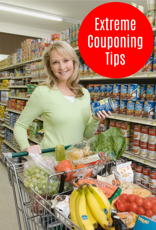 Extreme Couponing Tips - Learn how to use coupons to save lots of money on every shopping trip!