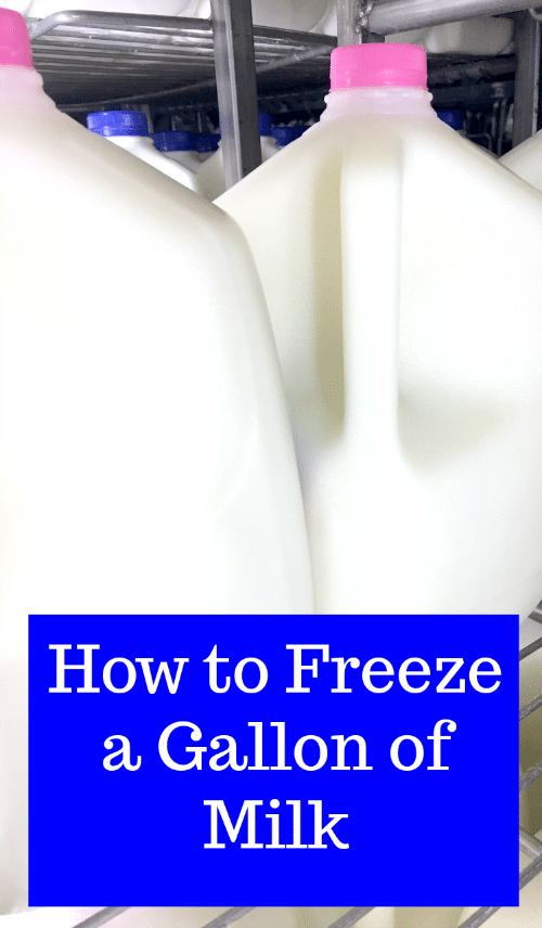 By freezing milk, you can take advantage of milk sale prices and two-for-one deals. Use these simple tips to learn how to freeze a gallon of milk.