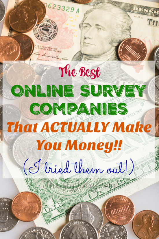 The Best Online Survey Companies that Actually Make Your Money