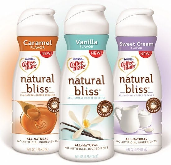 Coffee-­mate Natural Bliss Creamer Review