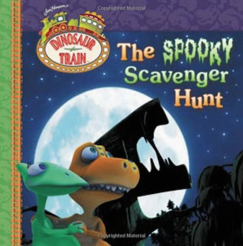 Dinosaur Train The Spooky Scavenger Hunt
