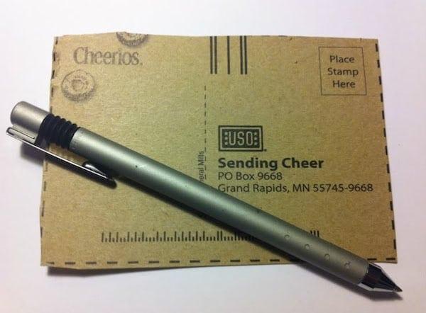 Cheerios Sending Cheer Military Families