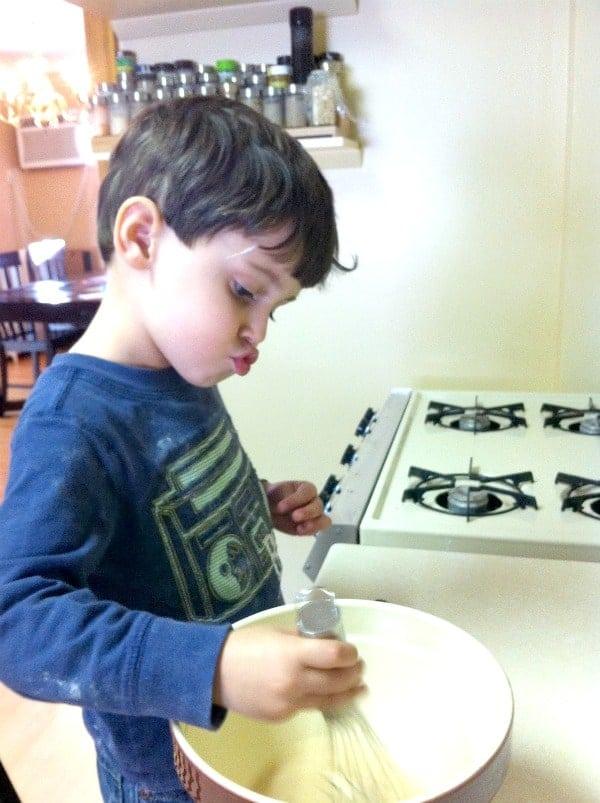 Toddler Baking
