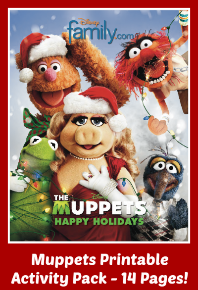 Printable Muppets Activity Pack