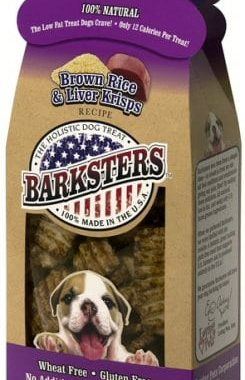 Loving Pets Barksters Brown Rice and Beef Krisps