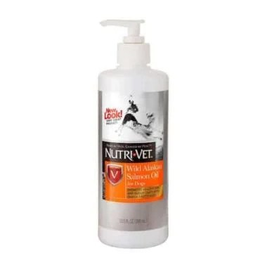 Nutri-Vet Wild Alaskan Salmon Oil for Dogs