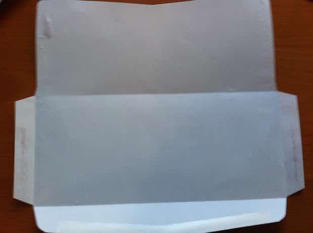 junk mail envelope reuse