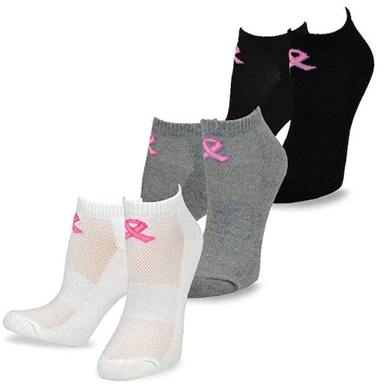 breast cancer month socks