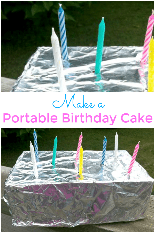 How to Make a Portable Birthday Cake