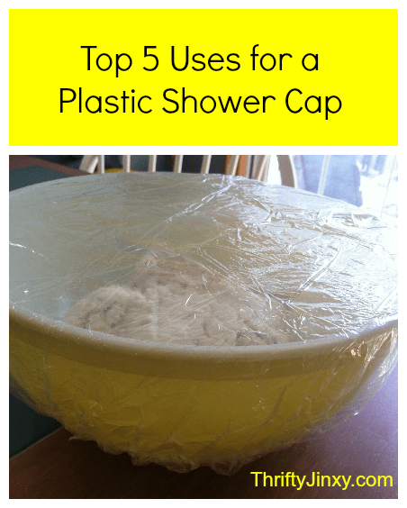 uses for a plastic shower cap