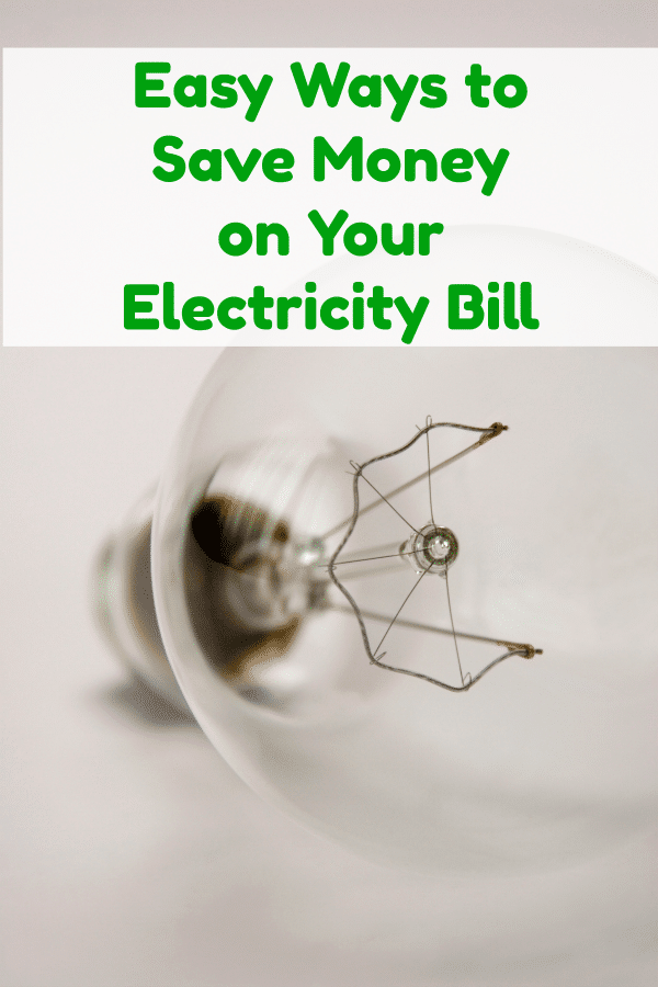 Easy Ways to Save Money on Your Electricity Bill