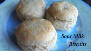 Sour Milk Biscuits