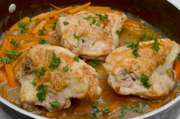 Chicken fricasse recipe