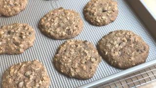 Whole Wheat Oatmeal Breakfast Cookies