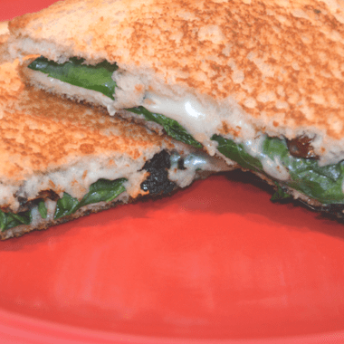 Greek Inspired Grilled Cheese Recipe