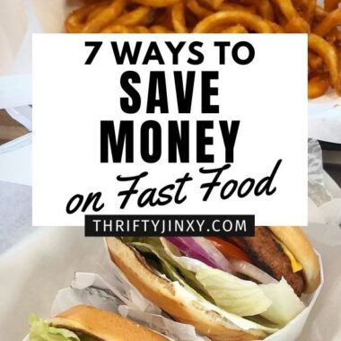 Save Money on Fast Food