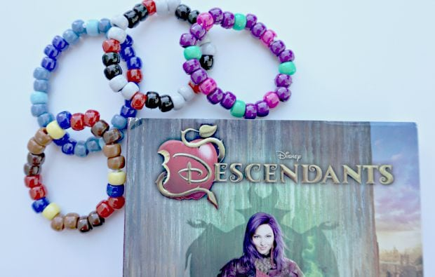 Disney Descendants Character Bracelets DIY