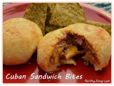 Cuban Sandwich Bites Appetizer
