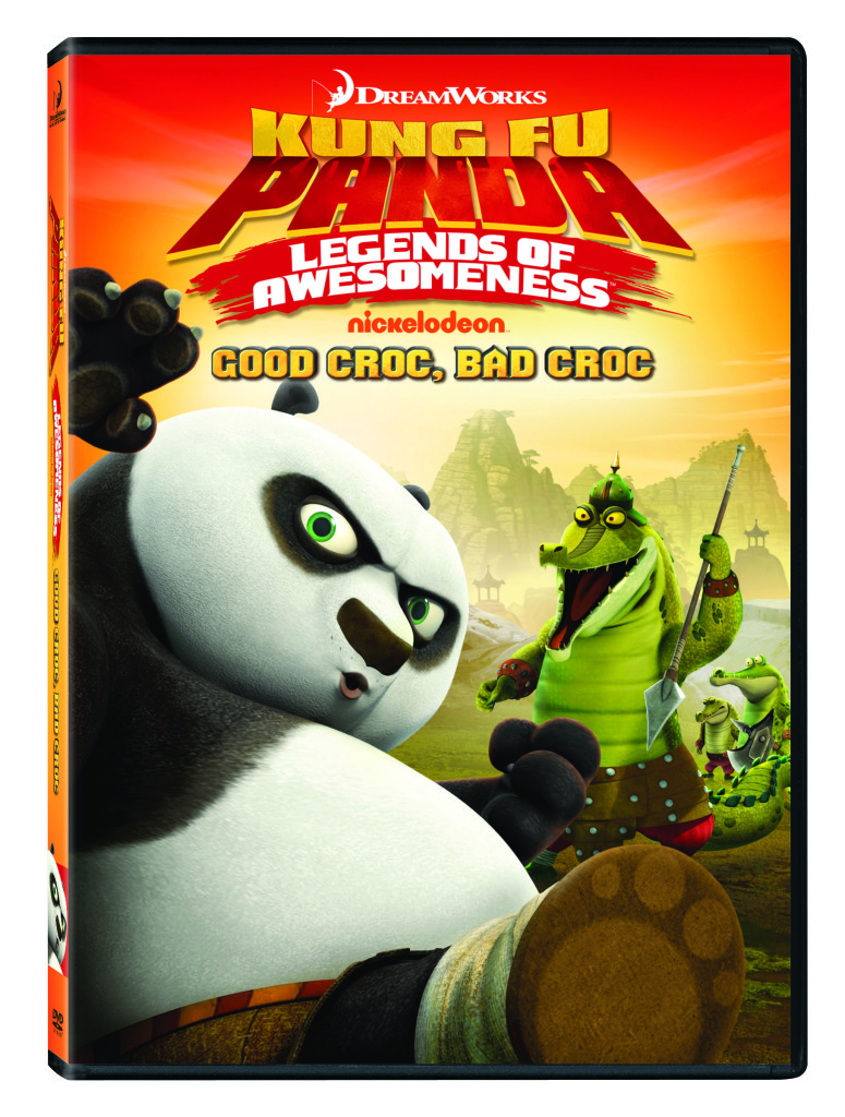 Kung Fu Panda Legends of Awesomeness DVD