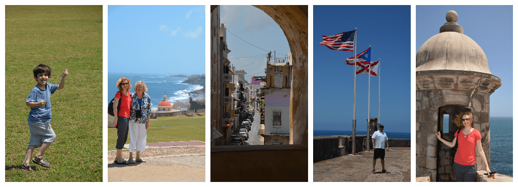 Old San Juan Collage