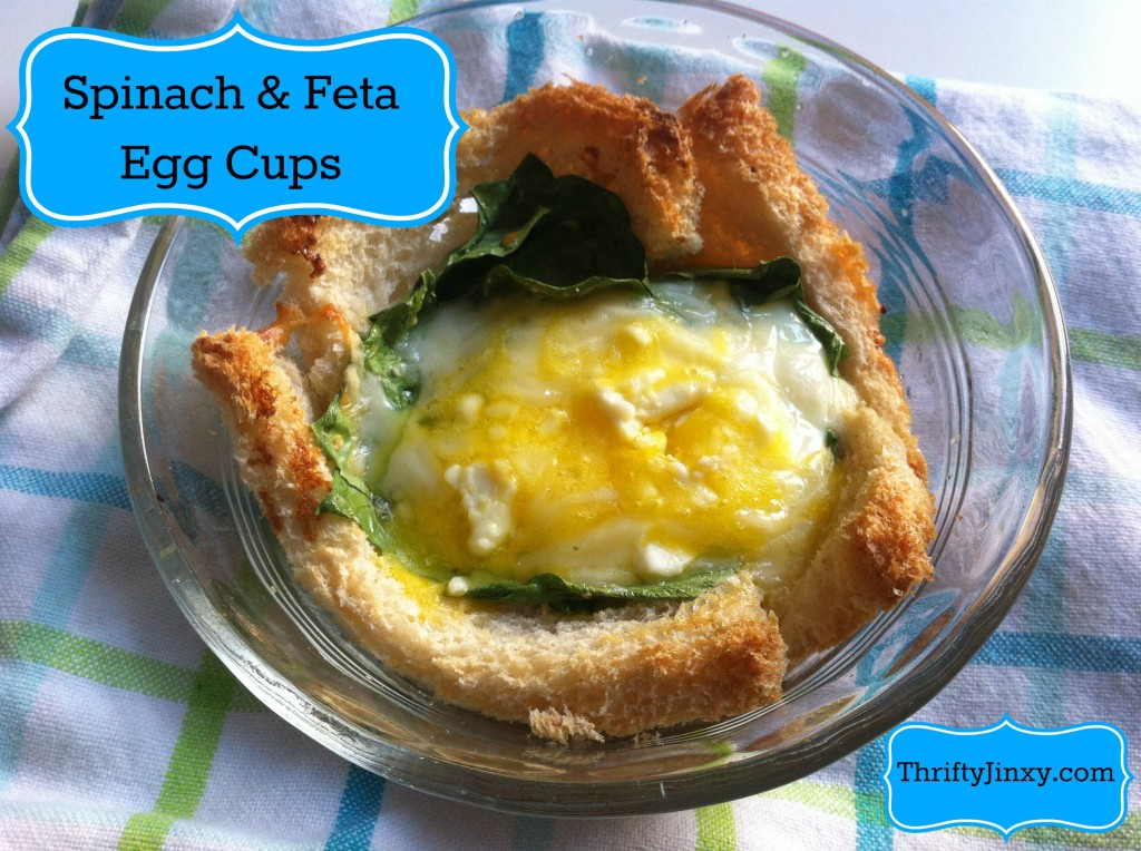 Spinach Feta Egg Cups Recipe